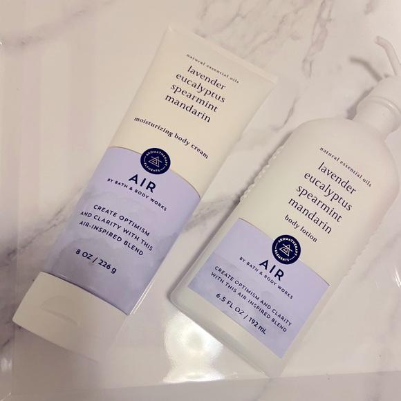 """NWT🏷🌬💜 Set Of """"Air"""" By Bath & Body Works"""
